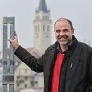 Dominik Reis am Hafen. (Bild: Donato Caspari)