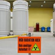 Das Zwischenlager für radioaktive Abfälle in Würenlingen im Kanton Aargau. Bild: Gaëtan Bally/Keystone (9. November 2010)