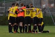 Dank einem starken Kollektiv und einem tollen Schlussspurt überwintert Kirchberg in der 4. Liga auf Platz 1. (Bild: Beat Lanzendorfer)