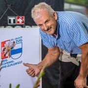 Schwingerkönig Harry Knüsel, Botschafter des «Eidgenössischen». (Bild: PD)