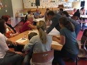 An der ersten Vernetzungsveranstaltung im Oktober 2017 nahmen rund 30 Vertreter aus dem Bereich «Frühe Förderung» teil. (Bild: PD)