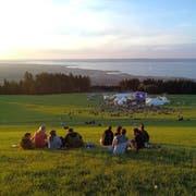 """Zum elften Mal fand das """"Sur le lac""""-Festival in Eggersriet statt. (Bild: Adrian Lemmenmeier)"""