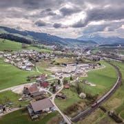 Die Fusionsidee gibt unter Honauern zu reden. Hier eine Ansicht der Gemeinde Honau mit Root und Gisikon im Hintergrund. (Bild: Pius Amrein, Honau, 8. April 2019)