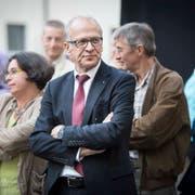 Alt Regierungsrat Martin Gehrer ist neu Verwaltungsratspräsident der Züger Frischkäse AG in Oberbüren. (Bild: Benjamin Manser)