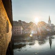 Diessenhofen, das idyllische Städtchen am Rhein. (Bild: Andrea Stalder)