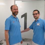 Kollegiales Verhältnis: Hausarzt Ciril Hvalić (links) mit Stefan Christ, Leitender Arzt Notfallmedizin.