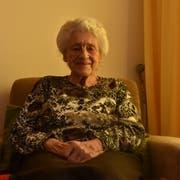 Erika Huber wohnt seit einigen Monaten im Regionalen Seniorenzentrum Solino in Bütschwil. (Bild: Anina Rütsche)