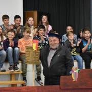 Der abtretende Schulratspräsident Josef Rütsche war der Kapitän der Schule Lütisburg. Nun gibt er das Steuer des Schiffes weiter. (Bild: Timon Kobelt)