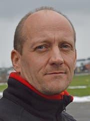 Helikopterpilot Michael Keist denkt nicht ans Aufhören. (Bild: Florian Arnold, 17. Januar 2019)