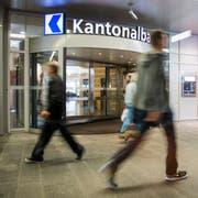 Haupteingang der Luzerner Kantonalbank. (Archivbild LZ)