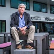 Hans-Rudolf Schärer, Rektor der PH Luzern, ist besorgt um die Qualität der Lehrerinnen- und Lehrerausbildung. (Bild: Boris Bürgisser, Luzern, 11. Juni 2019)