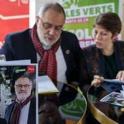 Lisa Mazzone (Grüne) und Carlo Sommaruga (SP) wollen in den Ständerat. (Bild: Keystone)