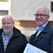 Stehen für Glaubwürdigkeit, Vertrauen und offene Kommunikation mit allen Beteiligten: Hansjörg Lutzi und Georges Lüchinger. (Bild: Heini Schwendener)
