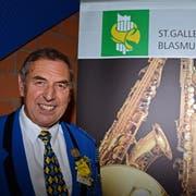 Eduard Mader kommt als Mitglied der Musig Lenggenwil eine besondere Ehre zuteil. Er wird während fünf Jahren zum Fähnrich des Kantonalverbands. (Bild: PD)