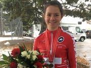 Monique Halter aus Herisau freut sich über ihren Sieg. (Bild: PD)