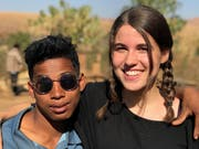 Rahel Aschwanden hat Freundschaften mit Madagassen geschlossen. (Bild: PD, Manirisoa, Juli/August 2018)