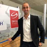 Patrick Bloch, Geschäftsführer des HC Thurgau und künftiger CEO des Schweizerischen Eishockeyverbands, freut sich, dass in Weinfelden die Crème de la Crème des Schweizer Eishockeys zu sehen ist. (Bild: Matthias Hafen)