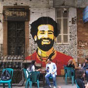 Mohamed Salah ist in Ägyptens Hoffnung. (Bild: Amir Makar/AFP Photo (Kairo, 4. April 2018))