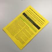 Happige Vorwürfe: Mit diesem Flugblatt wollen Angehörige und Mediziner eines ehemaligen Patienten der Spitex Kriens um CEO Hannes Koch dessen Wiederwahl als Kantonsrat verhindern.