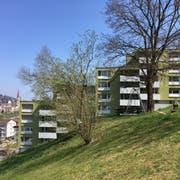 An der Ruhsitzstrasse 7-29 in St.Gallen wurde die tote Frau aufgefunden. (Bild: Michel Canonica)