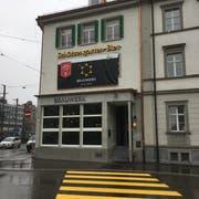 Früher «Dufour», heute «Brauwerk»: Nach knapp einjähriger Bauzeit eröffnet das neue Restaurant seine Türen. (Bild: Christoph Renn)