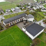 Das Sekundarschulhaus in Wigoltingen. (Bild: Reto Martin)