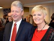 Eschlikons Gemeindepräsident Hans Mäder mit Gattin Marie-Louise.