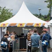 Das Open Air St.Gallen hat bislang rund 10'000 Tickets im Vorverkauf abgesetzt. (Bild: Luca Linder)