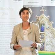 SVP-Regierungsrätin Monika Knill. (Bild: Donato Caspari)