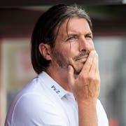 Macht vieles richtig: Thun-Sportchef Andres Gerber. (Bild: Patrick Hürlimann/Keystone (Thun, 29. Juli 2018))