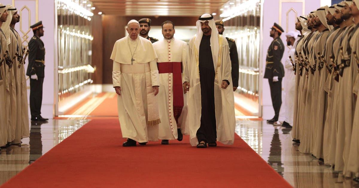 Papst auf religiöser Friedensmission