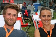 Joël Odermatt und Arlette Zimmermann. (Bild: Sepp Odermatt (Ennetbürgen, 2. Juli 2018))