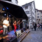 An der Jazz Night wird die Zuger Altstadt abgeriegelt. (Bild: Werner Schelbert (Zug, 24. August 2018))