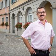 Tapetenwechsel: Robert Raths verbringt seine letzten Monate in Thal, während 20 Jahren war er hier Gemeindepräsident. (Bild: Urs Bucher)
