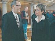 Regierungsrätin Karin Keller-Sutter predigte vor zehn Jahren zum Thema «Gerechtigkeit und Strafe». (Bild: PD)