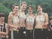 Die Bütschwiler Goldstaffel: Michaela Koch, Isabelle Müller, Marigna Franck und Selina Büchel (von links). (Bild: PD)