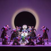 Die letzte Aufführung des Tanztheaters «Orfeo ed Euridice» muss am Freitagabend abgesagt werden. (Bild: Luzerner Theater)