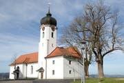 Die Wallfahrtskirche Heiligkreuz. (Bild Manuela Jans-Koch, 16. November 2015)