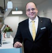 Der Obwaldner Spitaldirektor Andreas Gattiker hatte einen herausfordernden Start. (Bild: Corinne Glanzmann (Sarnen, 19. Dezember 2019))