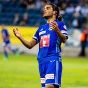 Francisco Rodriguez im Super League Spiel gegen Neuchâtel Xamax. (Bild: Philipp Schmidli (Luzern, 21. Juli 2018))
