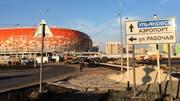 Das neue Fussballstadion von Saransk. Bild: Inna Hartwich