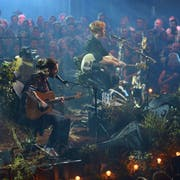 Biffy Clyro an einem MTV Unplugged-Konzert in London. (Bild: Jim Dyson/Getty Images (12. November 2017))