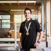Sven Bürki hat an den Berufsweltmeisterschaften World-Skills 2017 in Abu Dhabi Gold für die Schweiz geholt. (Bild: Thi My Lien Nguyen)