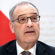 Bundesrat Guy Parmelin. (Bild: Peter Schneider / Keystone, Bern, 7. Juni 2019)
