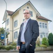 Sandro Parissenti, Gemeindepräsident Berg. (Bild: Benjamin Manser)