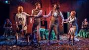 Szene aus «Ein Sommernachtstraum» vom William Shakespeare mit dem Theater Kanton Zürich. (Bild PD/Toni Suter)