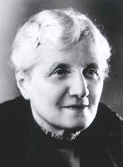 Marie Bachmann in fortgeschrittenem Alter. (Bild: Historisches Museum Thurgau)