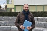 Werner Scherrer möchte sich als Schulratspräsident vor allem für die Jugend einsetzen. (Bild: Timon Kobelt)