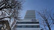 Der Roche-Hauptsitz in Basel (Bild: Michele Limina/Bloomberg, Basel, 1. Februar 2017)