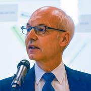 Benjamin Gentsch, Gemeindepräsident Neunforn. (Bild: Mathias Frei)